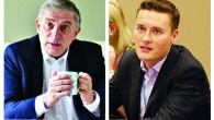 Lee Scott (left) is looking to snatch back his old seat from Labour's Wes Streeting
