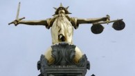 Lady Justice outside the Old Bailey courts in London