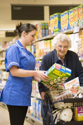 Bluebird Care staff help customers in many ways, including with shopping, gardening and cooking needs