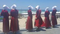 Handmaids at the beach