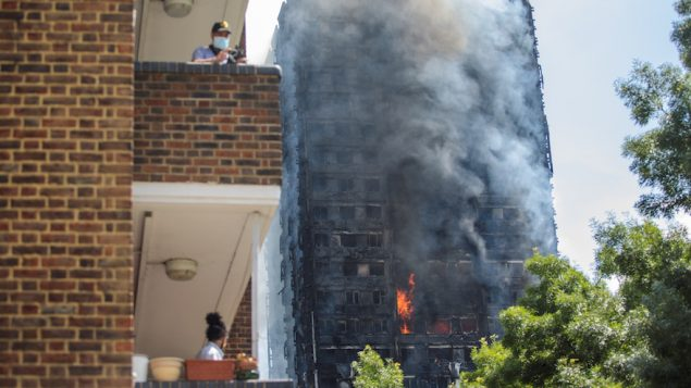 At Least Six Dead After Fire Rages Through London Tower Block