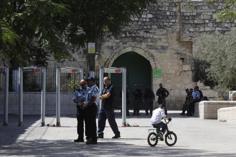 Palestinian Terror Suspect Shot, Killed After Opening Fire During Arrest