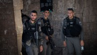 Israeli security in Jerusalem's Old City, e  Photo by: JINIPIX