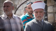 Grand mufti of the city, Mohammed Hussein was detained by Israeli police, after two Israeli solders were killed near the Temple Mount complex in Jerusalem's Old City  Photo by: JINIPIX