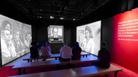 Visitors to the show can see a video of Eichmann's testimony from the actual glass booth he appeared in during the trial.