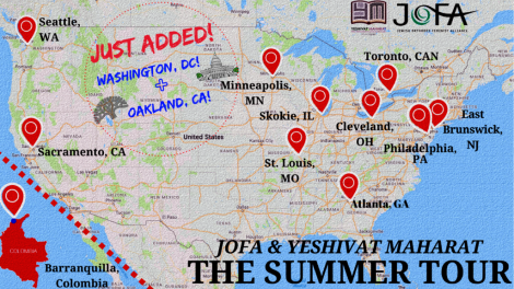 The Summer Tour Map