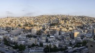 A panoramic view of East Amman