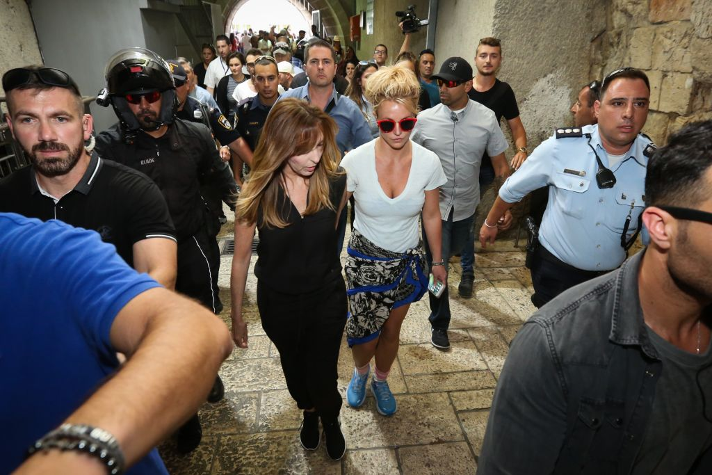 Britney Spears' Stop in Israel Is Causing