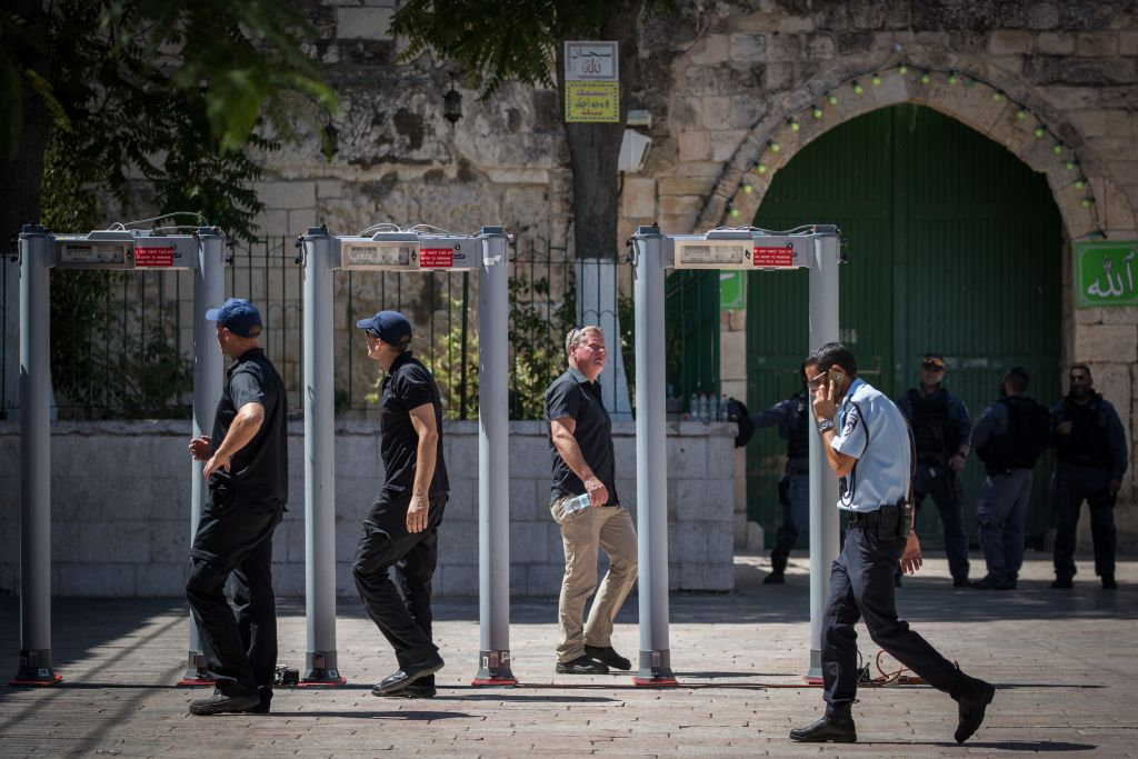 Jew Detector: Temple Mount Reopens To Jews As Waqf Members Boycott