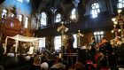 Historic NYC Synagogue Under Renovation Hosts Wedding