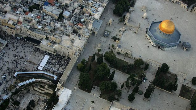 Aerial Views Of Jerusalem's Old City