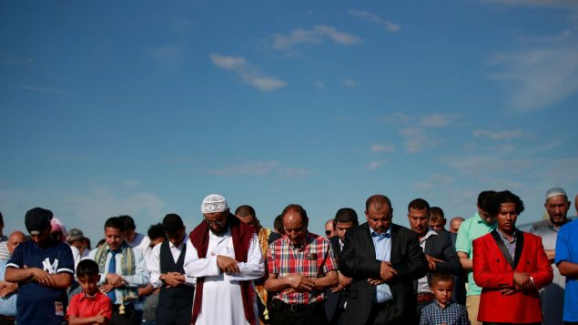 Muslims Mark End Of Ramadan In Brooklyn