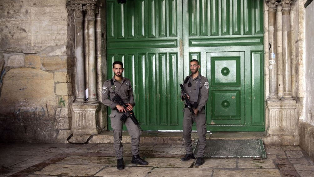 Israeli police killed at Temple Mount
