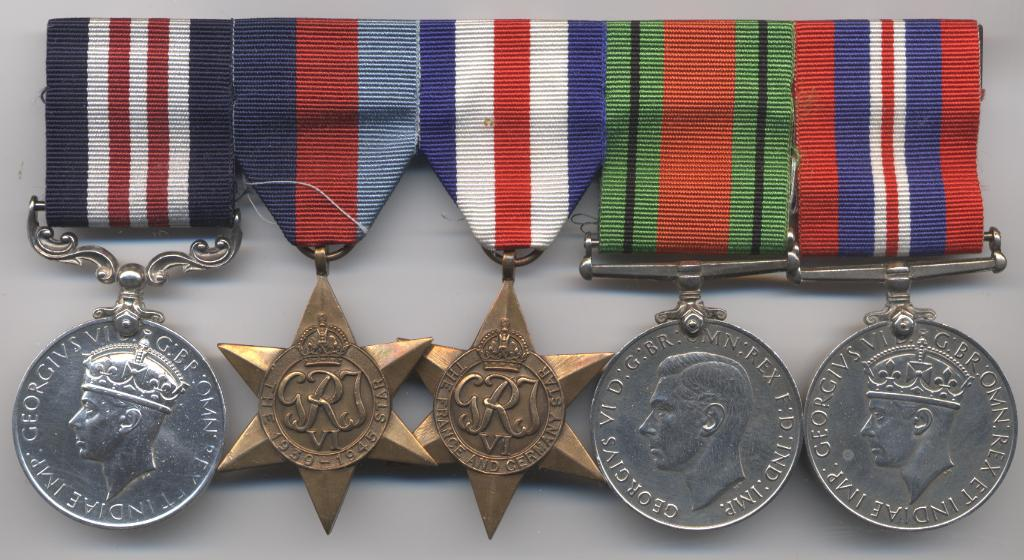 Walters medals