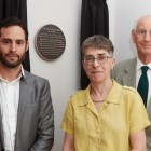 Otto Schiff Plaque Unveiling: Paul Godfrey Julia Shelley, Hugh Sassoon