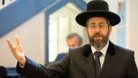 Israel's Ashkenazi Chief Rabbi David Lau