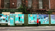 P. Galkoff Family Butchers shopfront.   Credit to @missizhicks on Instagram