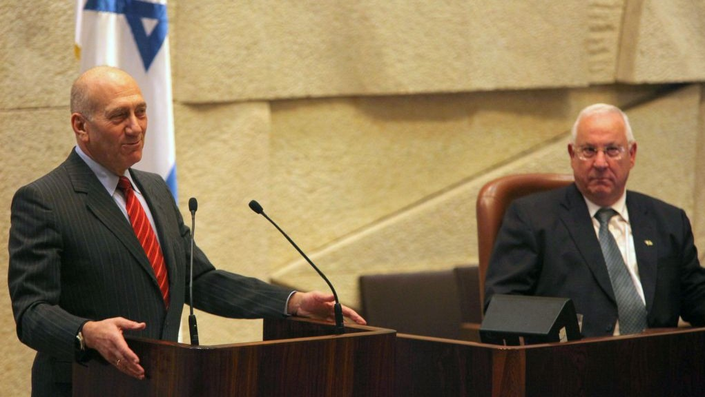 Rivlin cuts ex-prime minister Olmert's prison release conditions