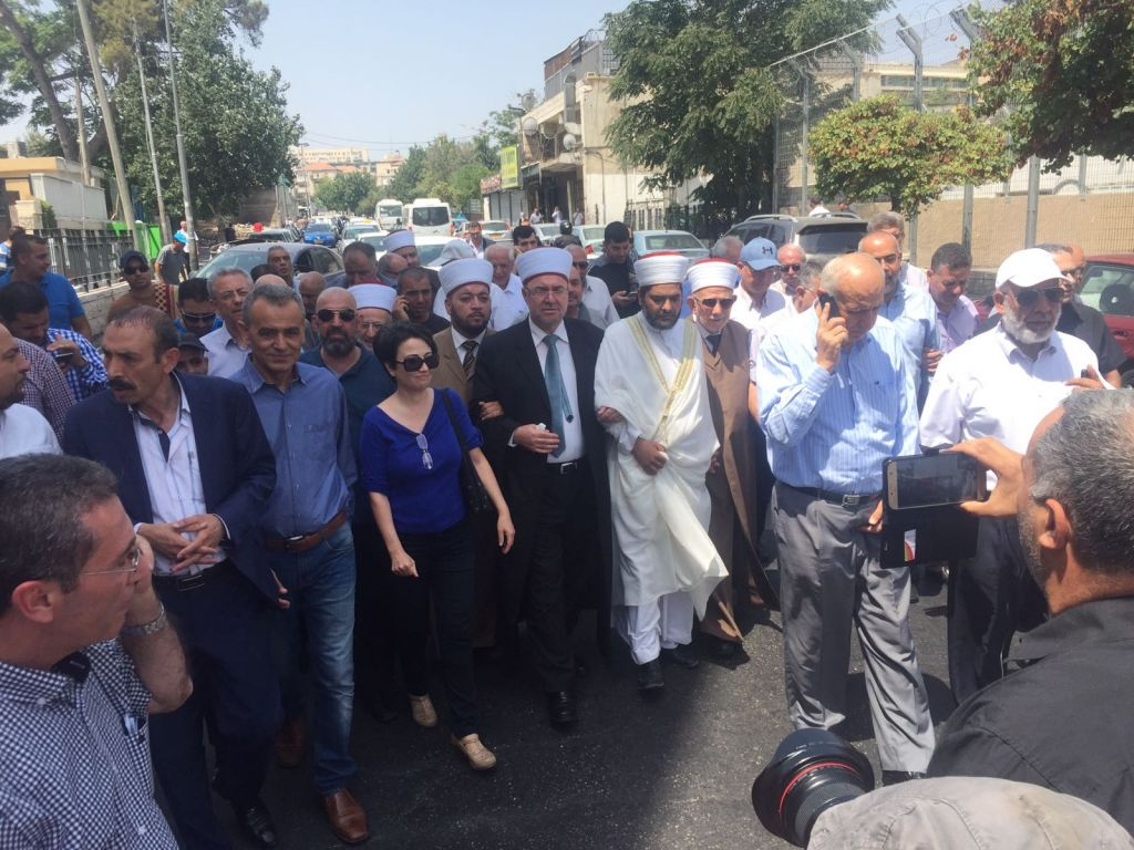 Erdoğan, Macron voice concern over Israeli restrictions on Al-Aqsa mosque