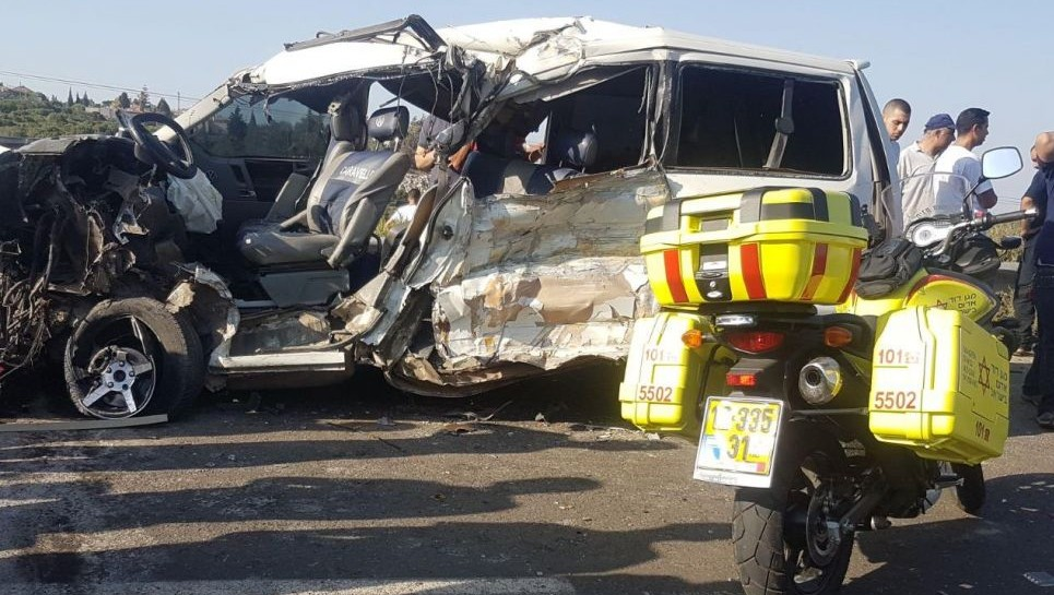 5 palestinians killed in west bank car accident the Motor vehicle accident settlements