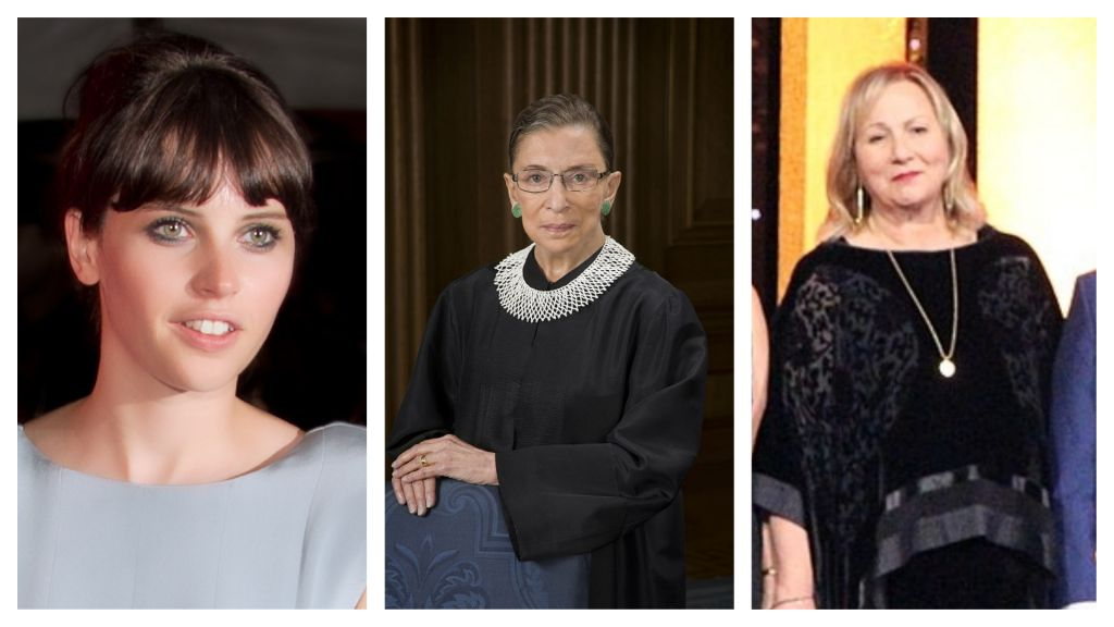 Felicity Jones to Play Supreme Court Justice Ruth Bader Ginsburg