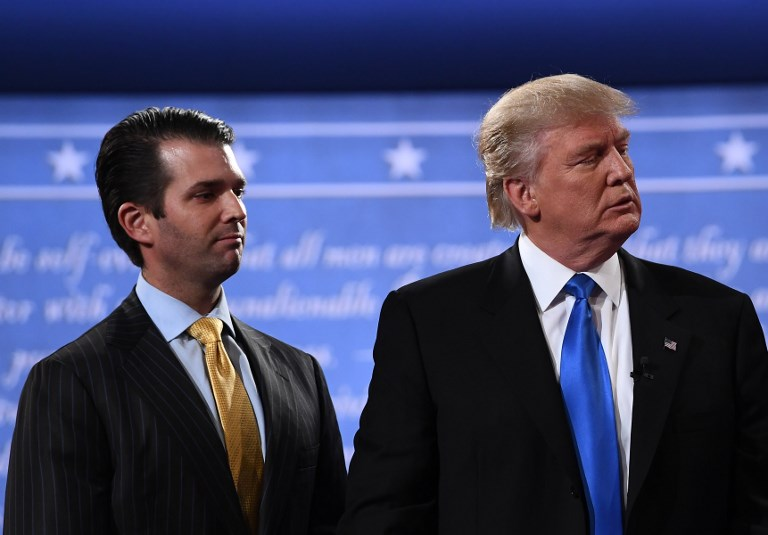 President penned Trump Jr. 'misleading' text on Russian Federation meeting
