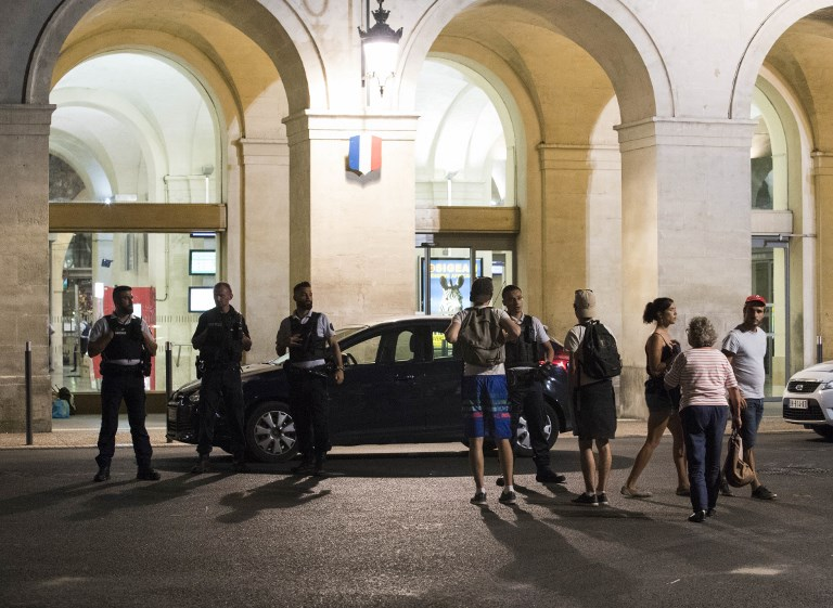 Train station in France evacuated over terror alarm
