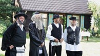 Polish village dresses up for imitation 'Jewish Wedding' in Radzanów, Poland 2017  (Photo credit: Jonny Daniels, From The Depths)