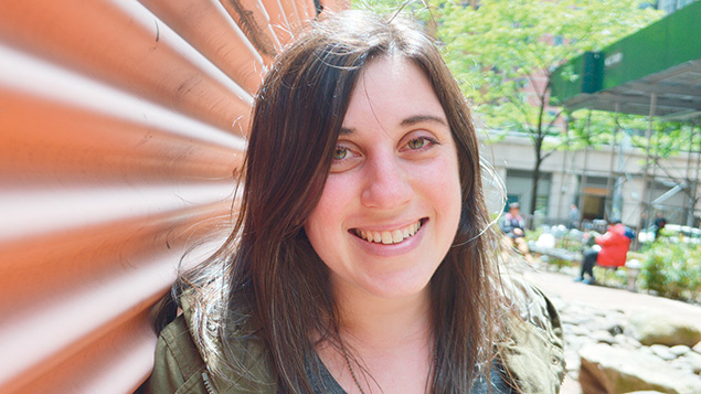 Molly Tolsky, Alma's editor, is writing for people in her own cohort now. (Courtesy Alma)