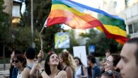 The annual gay pride parade in Jerusalem