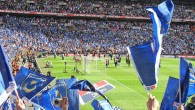 Portsmouth F.C. fans at Wembley in 2010