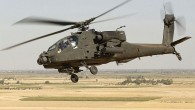 An Apache AH-64, built by the Americans and used by Israel