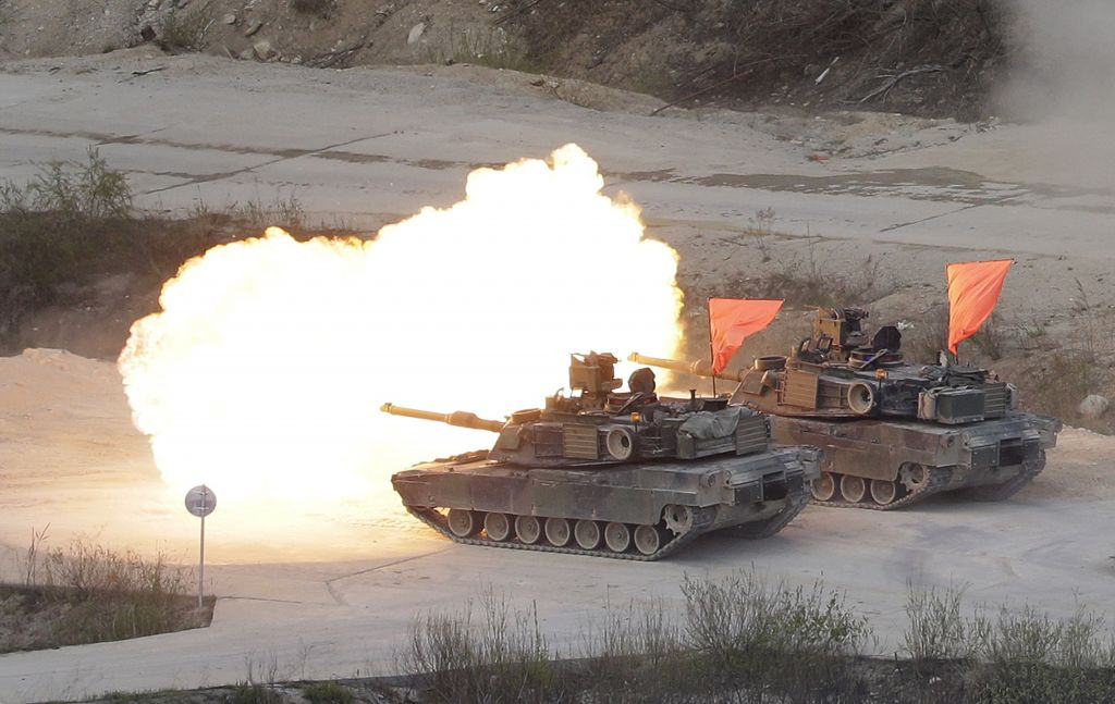 South Korea and USA troops start drills amid Pyongyang nuclear war threat
