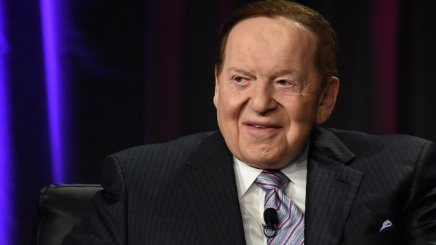 Sheldon Adelson Speaks At Global Gaming Expo In Las Vegas