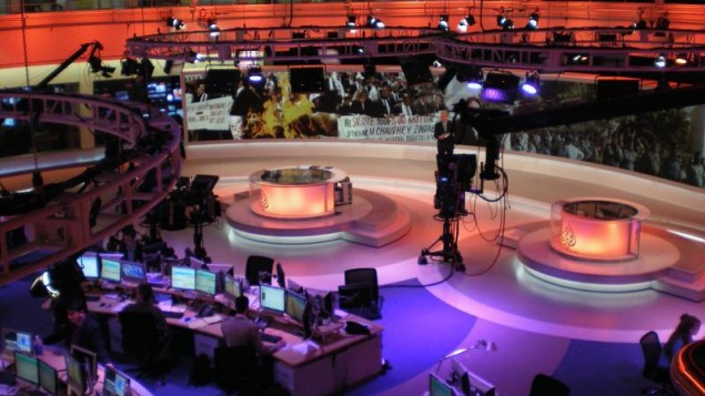 Newsroom of Al Jazeera English, Doha