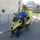Darren Millar on an MDA bike