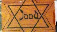 Yellow Star of David worn by Dutch Jews