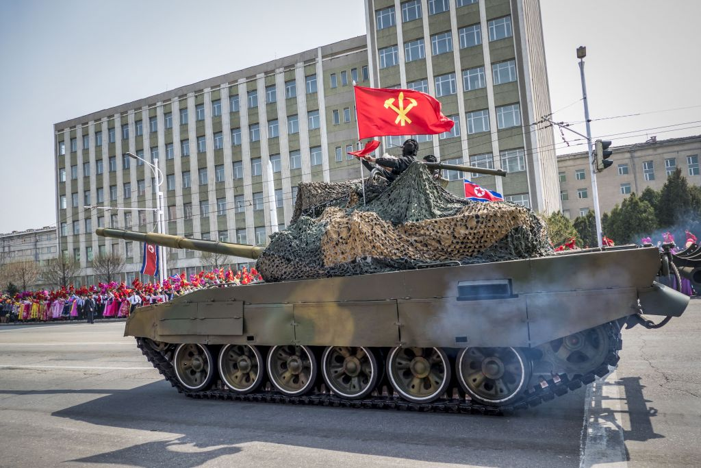 North Korean arms shipments en route to Syria…