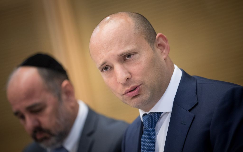 Israeli prime minister says no withdrawal from settlements