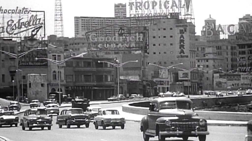 Havana's seaside Malecón in the 1940s, in a scene from 'Cuba's Forgotten Jewels.' (Courtesy)