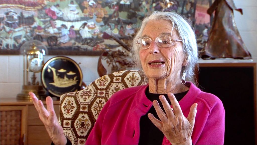 Marion Finkels Kreith, 90, recalls how her family found safe haven in Cuba during World War II in her daughter Judy Kreith's documentary, 'Cuba's Forgotten Jewels.' (Courtesy)