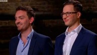 Jonny Plein (right) on Dragons Den