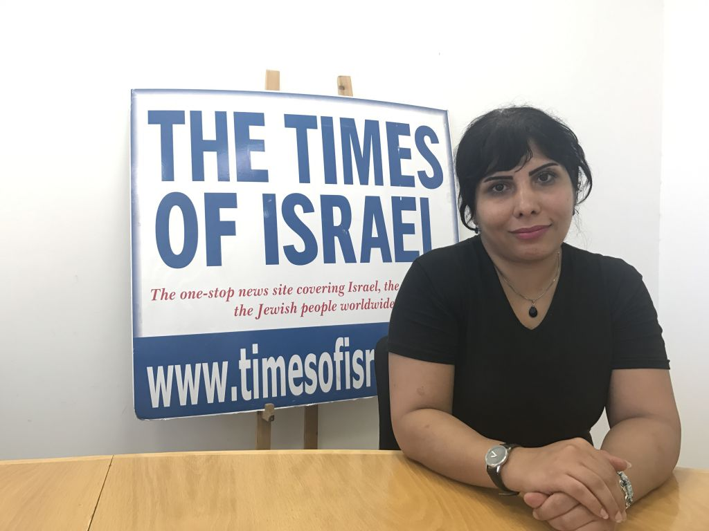 Iranian journalist who was granted asylum lands in Israel