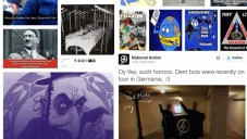 Examples of far-right, and conspiratorial anti-Semitic material found online
