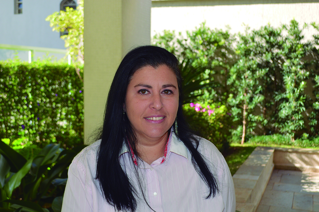 Rochelle Rosensweig has an MBA in finance, but is considering becoming an Uber driver to pay the bills due to Brazil's shrinking economy. (Courtesy)