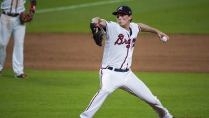 Max Fried Pitching