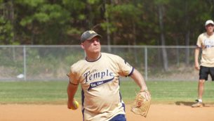 SP-Softball Temple Pitcher