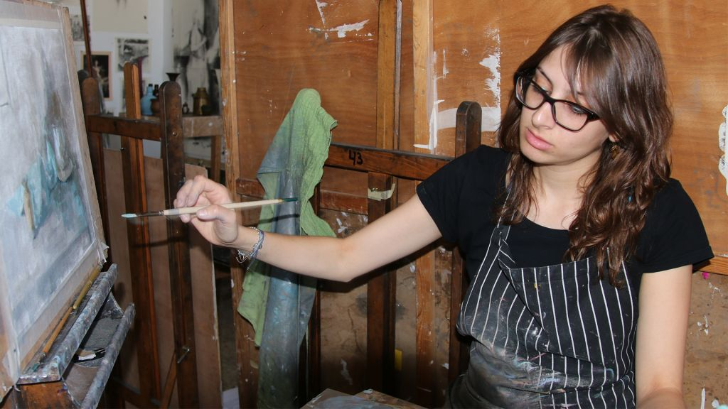 Beit Alliance is now home to young artists, entrepreneurs and others in Jerusalem. (Shmuel Bar-Am)