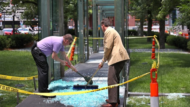 New England Holocaust Memorial Vandalized