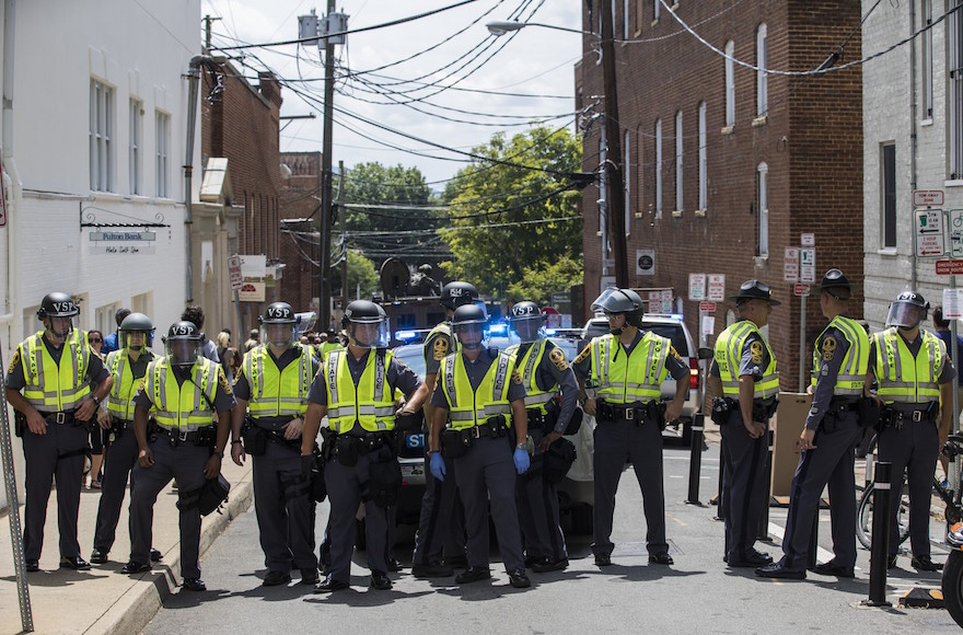 Local Police Did Nothing To Protect Charlottesville Synagogue